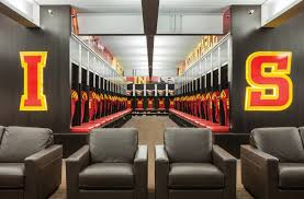 iowa state university bergstrom football complex substance