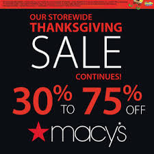 macy s thanksgiving sale blackfriday
