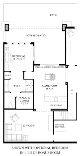 Bedroom Floor Planner by The Overlook At Firerock The Agua Fria Grand Home Design