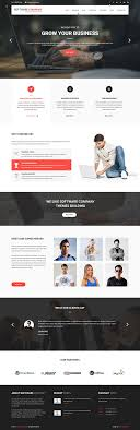 software company themes for digital and software websites