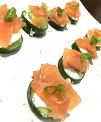 cucumber canapes smoked salmon and cucumber canapés lara s cooking journey