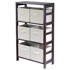 Storage Bookshelves With Baskets by Tall Storage Shelves With Baskets Home Decorations Ideas For