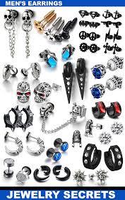 cool earrings for men earrings for men jewelry secrets