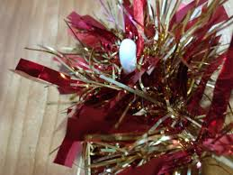 christmas decorations supported by sugru