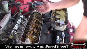 1994 honda civic part 1 valve cover gasket youtube