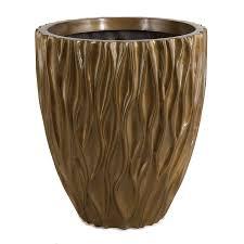 furniture various cool design of fiberglass planters for garden