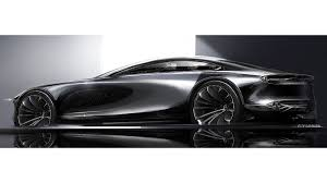 mazda u0027s gorgeous vision coupe shows bmw what a 6 series should