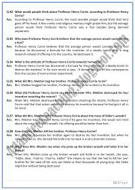 adamjee coaching progress question answers english xi