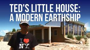 Earthship Floor Plans by Ted U0027s Little House A Modern Earthship Youtube