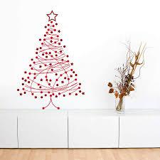 decor christmas tree wall decal home design ideas christmas tree decal for simply simple christmas tree wall decal