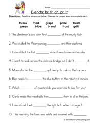 collection of solutions r blends worksheets about free huanyii com