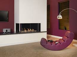glimpse duplex two sided gas fireplace i the collection by