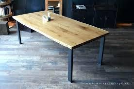 fabriquer sa table de cuisine table bois cuisine luxe table de cuisine moderne 4pcs chaises salle