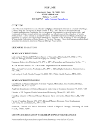 Premier Education Group Optimal Resume Physical Therapy Aide Resume With No Experience Free Resume