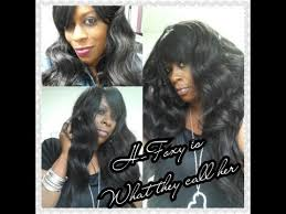 21 tress human hair blend lace front wig hl angel r b 21 tress 100 hh blend h foxy wig review youtube