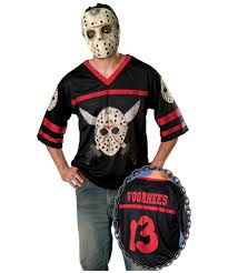jason costume jason hockey jersey costume men costumes