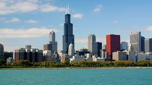 chicago skyline hd wallpaper wallpapersafari