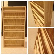 Spice Rack Pantry Door Super Easy Door Mounting Spice Rack Also My First Project Using A