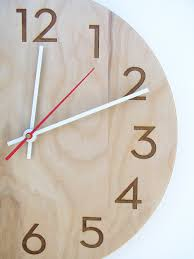 cool wall clocks for guys 10 inch medium size modern wood wall