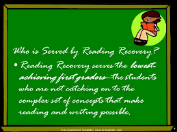 reading recovery by diana babb free powerpoint template 2