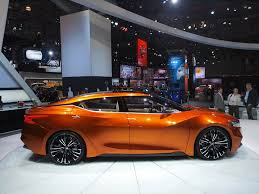 nissan sedan 2015 nissan sports sedan previews the 2015 maxima has attitude in new