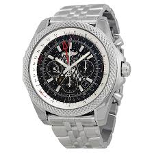 Breitling Bentley B04 Gmt Black Dial Chronograph Men U0027s Watch