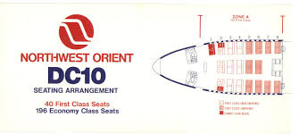Air India Seat Map by Airlines Past U0026 Present Northwest Orient Airlines Boeing 747 U0026 Dc