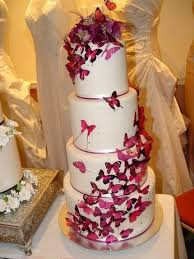 Our Butterfly Wedding Cake Soon To Be Wed