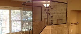 frameless glass shower doors framed marietta ga
