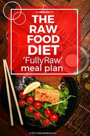the raw food diet u0027fullyraw u0027 meal plan