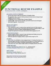 Sample Combination Resume Format Functional Resume Format Examples Resume Example And Free Resume