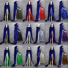 6xl Halloween Costumes Halloween Robe Cloak Renaissance Wedding Velvet Cape Medieval Blue