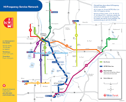 Green Line Metro Map by Maps For Driving Skyways Parking And Biking In Downtown Minneapolis