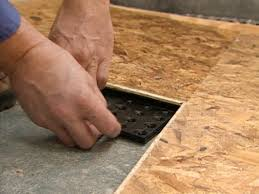 Laminate Floor Padding Underlayment Subfloor Options For Basements Hgtv