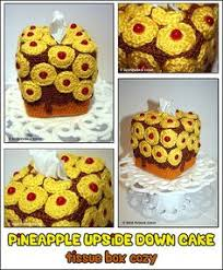 pineapple upside down cake thumb amigurumi food pinterest