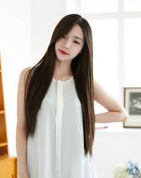korean long straight haircut hairstyle picture magz