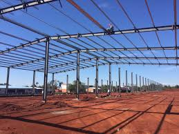 prefabricated steel structure portal frame warehouse prefabricated