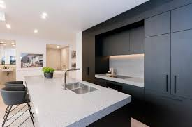 modern black kitchens kitchen ideas image gallery premier kitchens australia