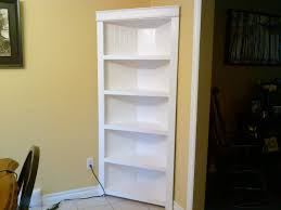 corner bookcase with doors corner shelf do it yourself home projects from ana white diy