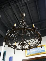 round chandelier light furniture currey and company antiquity chandelier in wrought