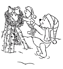piglet christmas coloring pages coloring pages ideas