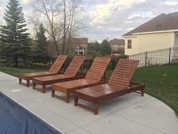 Building Outdoor Wooden Furniture by Diy 30 Chase Lounge Chairs Will Be Making These Soon For The