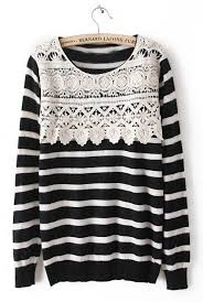 such a take on a striped sweater this idea fashion