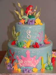 mermaid birthday cake https s media cache ak0 pinimg originals 53