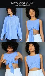 20 diy crop top tutorials made from old clothes gurl com