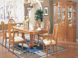 oak dining room sets with oak dining room table and 6 chairs