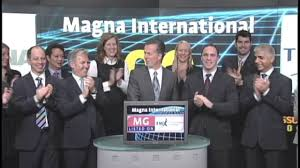 Magna Exteriors And Interiors Corp Magna International Inc Mg Tsx Opens Toronto Stock Exchange