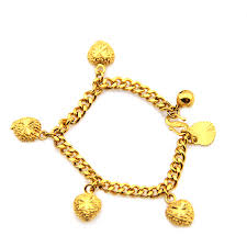Childrens Gold Bracelets Aliexpress Com Buy 18k Yellow Gold Filled Baby Kids Girls Chain