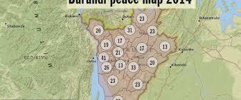 Burundi Map Mapping Burundi U0027s Peacebuilders Peace Insight
