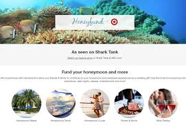 wedding registries for honeymoon target adds honeymoon funding to wedding registry through new